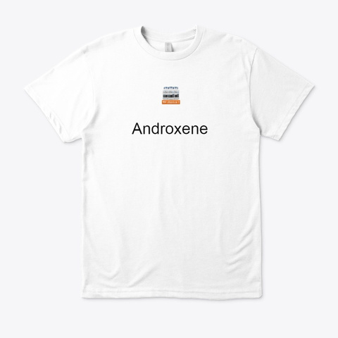 Androxene   [Truth Exposed] Male Pills White T-Shirt Front