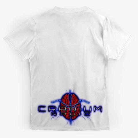 Cranium Sleeve T Shirt Standard T-Shirt Back