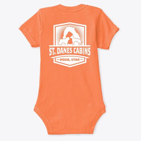 St Dane's Swag Orange T-Shirt Back