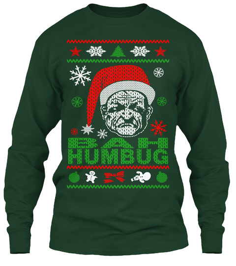Ugly Christmas Sweaters.Bah Humbug Ugly Christmas Sweater Style