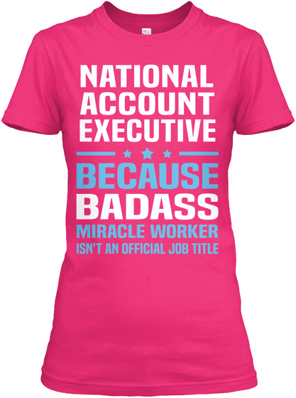 National Account Executive Hoodie Tshirt
