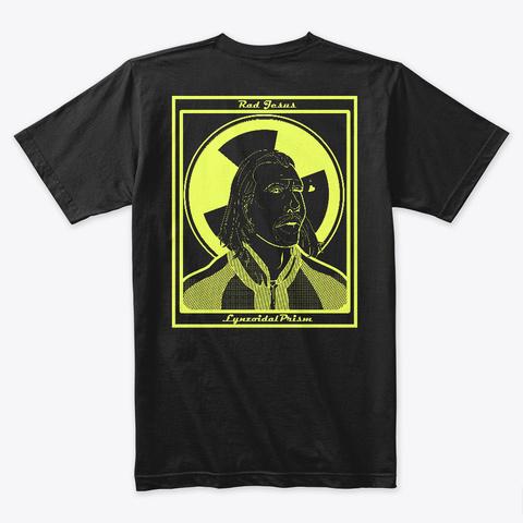 Rad Jesus Black T-Shirt Back