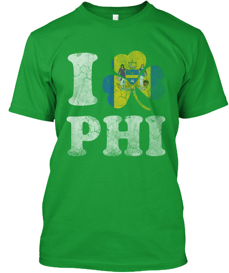 I Phi Kelly Green T-Shirt Front