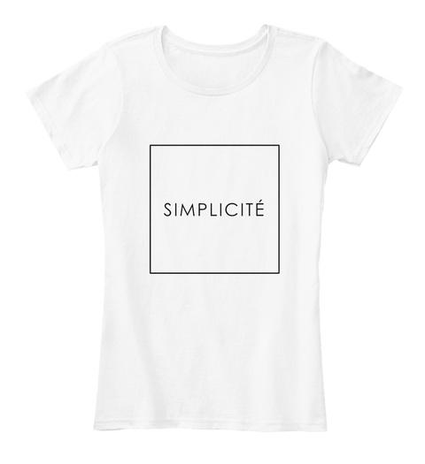 Simplicité Products Teespring