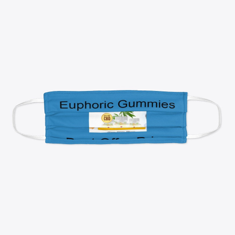 Euphoric Gummies Reviews, Benefits, Buy! Denim Blue T-Shirt Flat