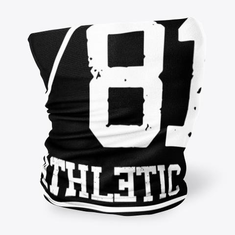 Black Rabbit Athletic Division  Black T-Shirt Side