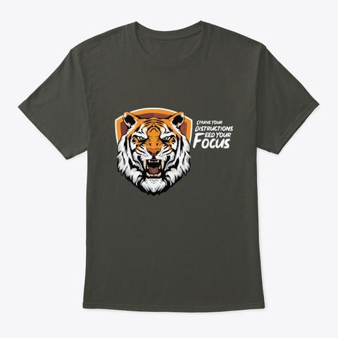 Royal Tiger Focus Tees Smoke Gray Camiseta Front