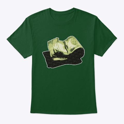 Money Roll Deep Forest T-Shirt Front