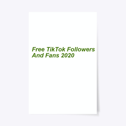 ®[Approved] ¶¶Free Tik Tok Followers 2020 Standard T-Shirt Front