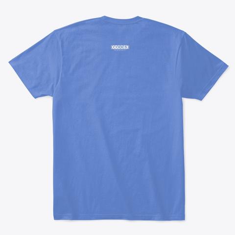 Yac 🏈 Man  Heathered Royal  T-Shirt Back