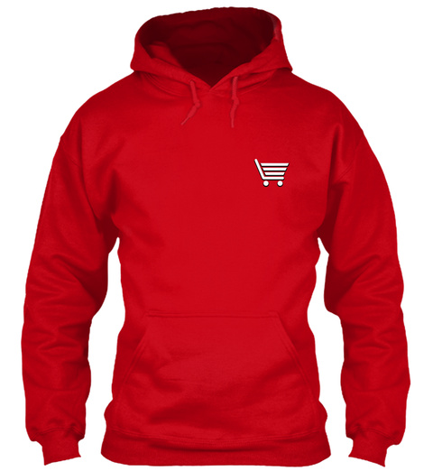 Store Manager Hoodie Christmas Special Red T-Shirt Front