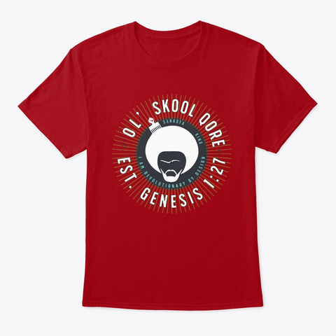 Genesis   Qore Red Deep Red T-Shirt Front