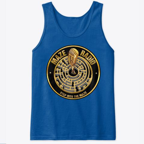 Men's Tank Tops Royal T-Shirt Front