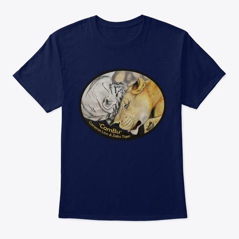 Cam Bu True Love Navy T-Shirt Front