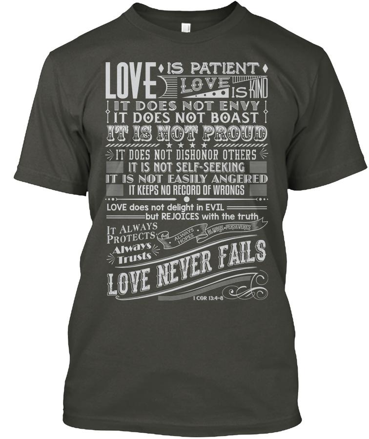 1 Corinthians 134-8 Unisex Tshirt