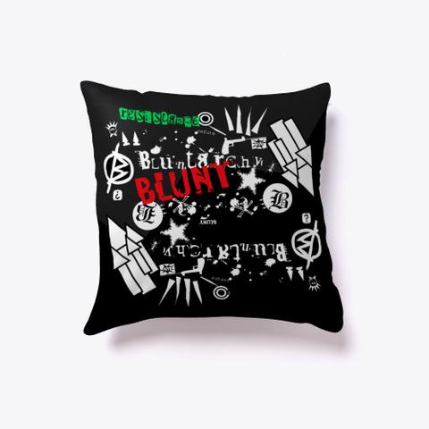 Blunt Rock Pillow Standard T-Shirt Front