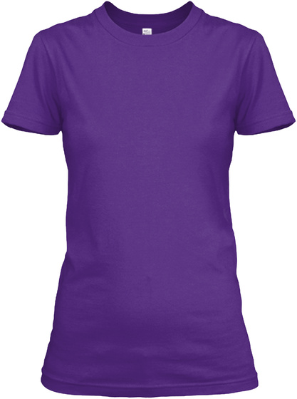 Half Sister Of A Awesome Doctor Purple Women's T-Shirt Front