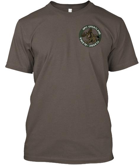 Npc Greatland Classic Alaska Coffee T-Shirt Front