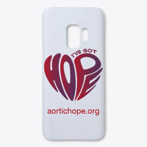 Got Hope Logo White T-Shirt Front