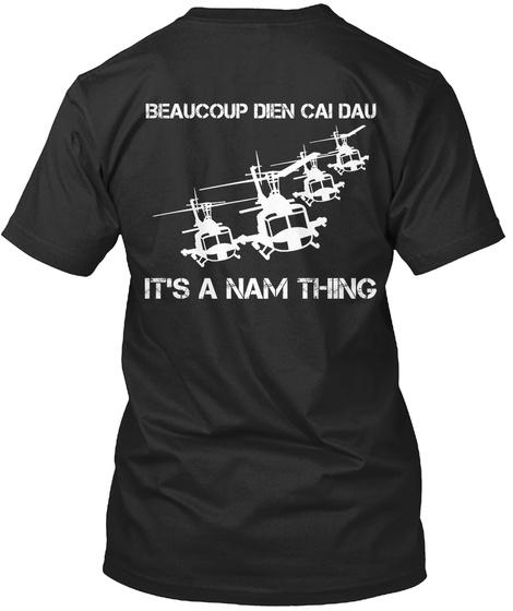 Beaucoup Dien Cai Dau It's A Nam Thing Black T-Shirt Back