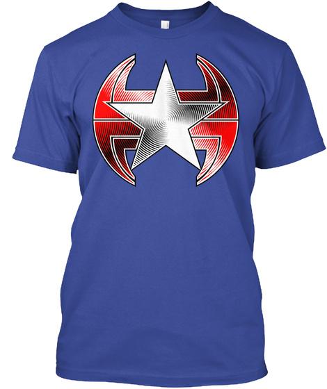 Paragon United Deep Royal T-Shirt Front