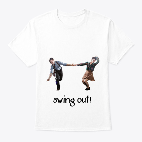 Swingout White T-Shirt Front