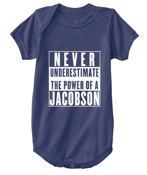 Jacobson This Is My Power. Navy  T-Shirt Front