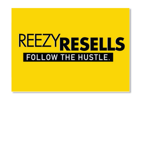 Follow The Hustle   Sticker White T-Shirt Front