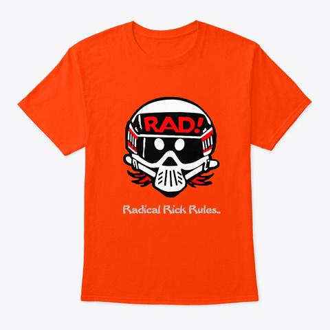 Ra Dical Rick Tees & Tank Tops Orange T-Shirt Front