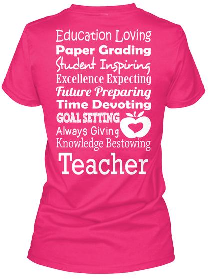 LIMITED EDITION Teacher List Shirts!