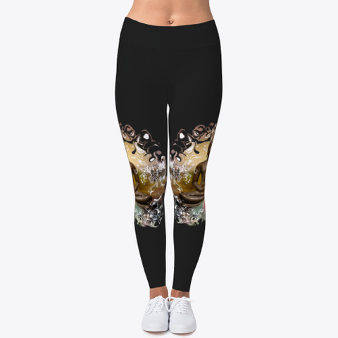 Lea Schock Leggings Black T-Shirt Front