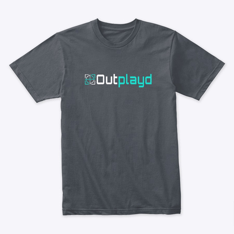Outplayd Tee  Heavy Metal T-Shirt Front