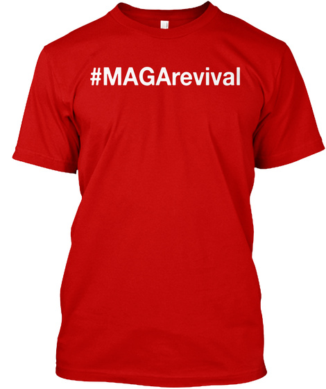 #Mag Arevival Classic Red T-Shirt Front