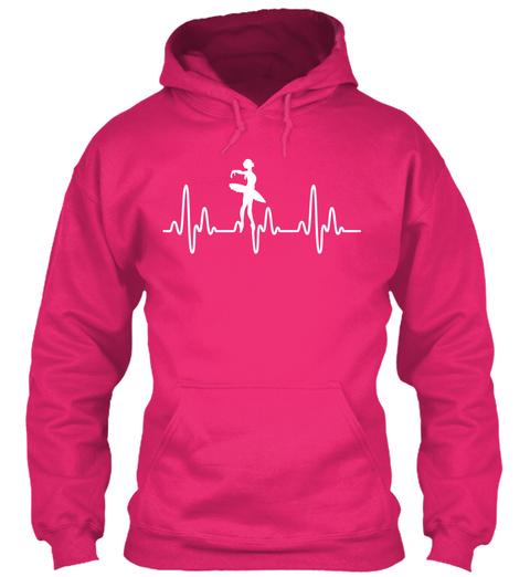 Ballet Heartbeat Heliconia Sweatshirt Front