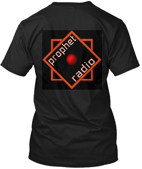 Prophet Radio Black T-Shirt Back