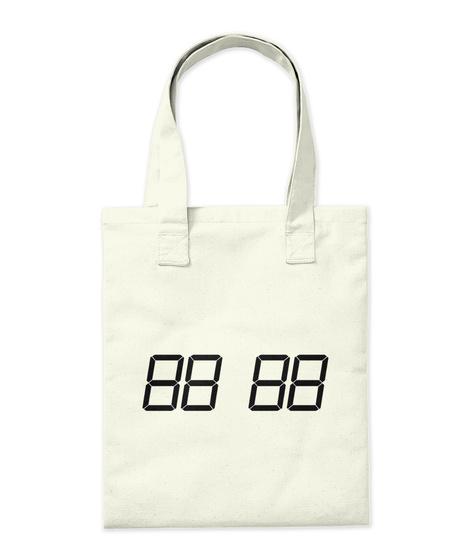 Promotion Tote Bag Natural T-Shirt Back