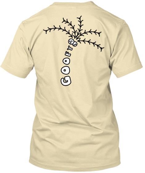 Goofy Cream T-Shirt Back