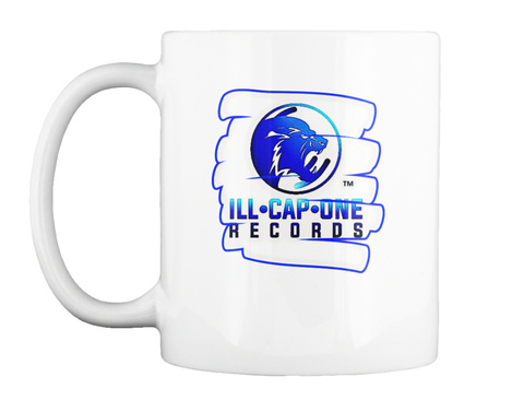Illcapone Records Mug White T-Shirt Front