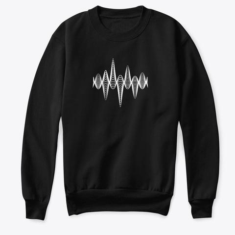 Sweatshirt: Inspiration Black T-Shirt Front