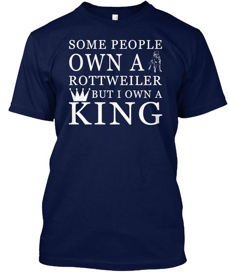 Rottweiler Navy T-Shirt Front