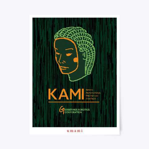 Kami Corporate Poster Standard T-Shirt Front