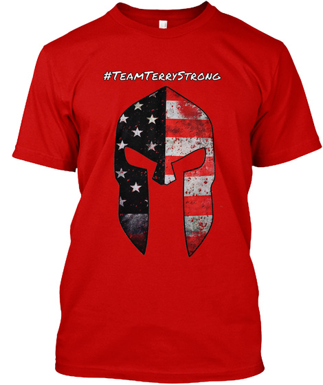 #Team Terry Strong T-Shirt Front