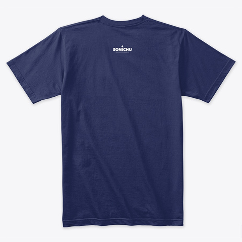 Chris Chan Campaign Midnight Navy T-Shirt Back
