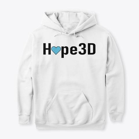 Hope3 D Apparel Arctic White Sweatshirt Front