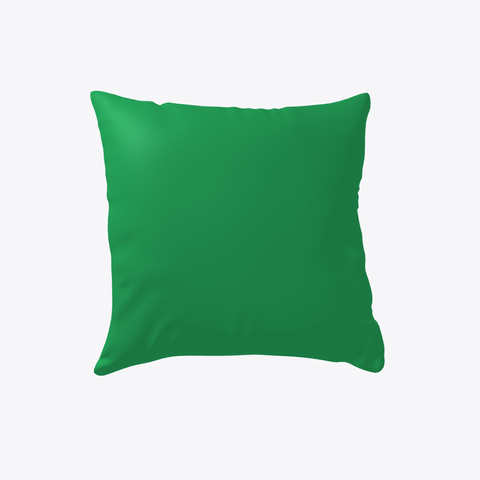 Penguins With Hats Christmas Pillow Green T-Shirt Back