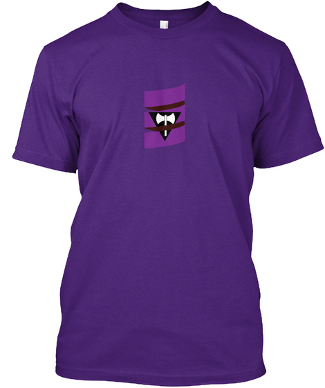 Scala Pride (Lesbian/Labrys Pride) Purple T-Shirt Front