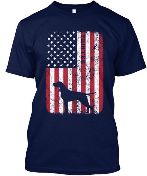 Pointer Love Gift Shirt Navy T-Shirt Front