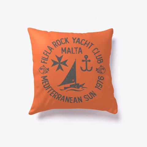 Cushion | Malta Funny Coral T-Shirt Front