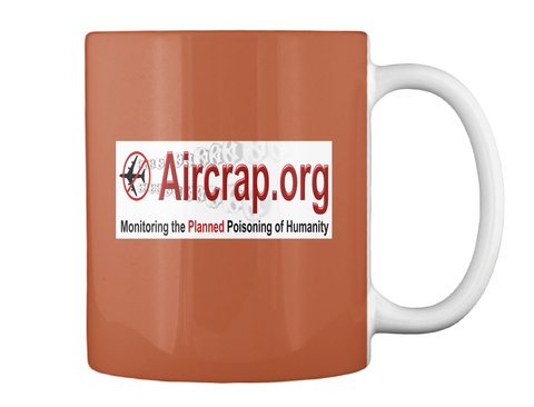 Official Air Crap Coffee Mugs Burnt Orange T-Shirt Back