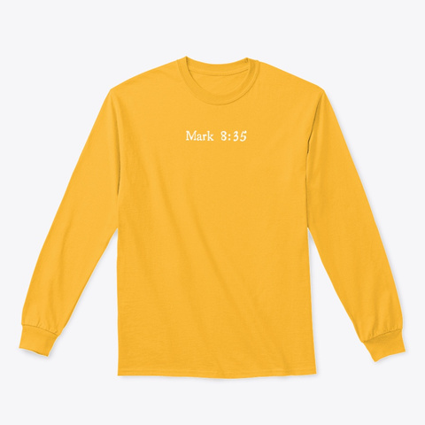 N/A Gold T-Shirt Front